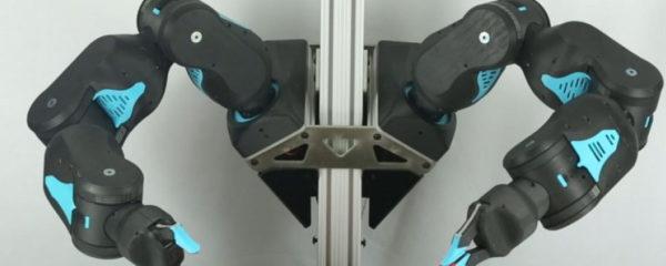 Le robot Blue en action
