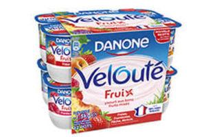 Des produits laitiers de Danone