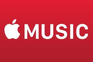 Affiche d'Apple Music à son lancement en 2016