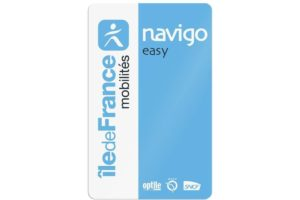 Une carte Navigo Easy
