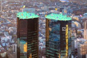 Siège de Deutsche Bank à Franckfort
