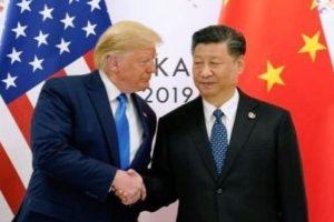 Le président américain Donald Trump et son homologue chinois Xi Jin Ping