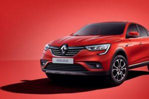 Renault Arkana, le crossover coupé de la marque française