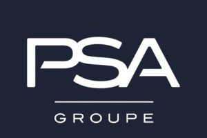 Logo du groupe PSA.