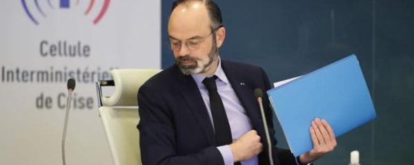 Le premier ministre Edouard Philippe lors d'une conférence le vendredi 27 mars 2019.