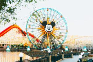 Disneyland Park, Anaheim, Etats Unis.