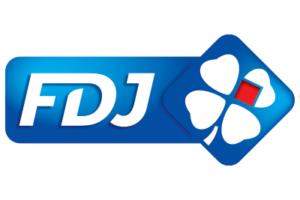 Le logo de la Française des Jeux (FDJ).