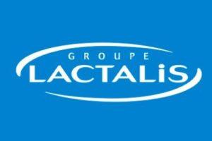 Logo du groupe Lactalis.